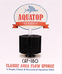 CLASSIC AQUA FLOW SPONGE AQUARIUM FILTER