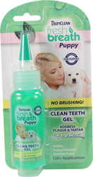 FRESH BREATH CLEAN TEETH GEL FOR PUPPIES