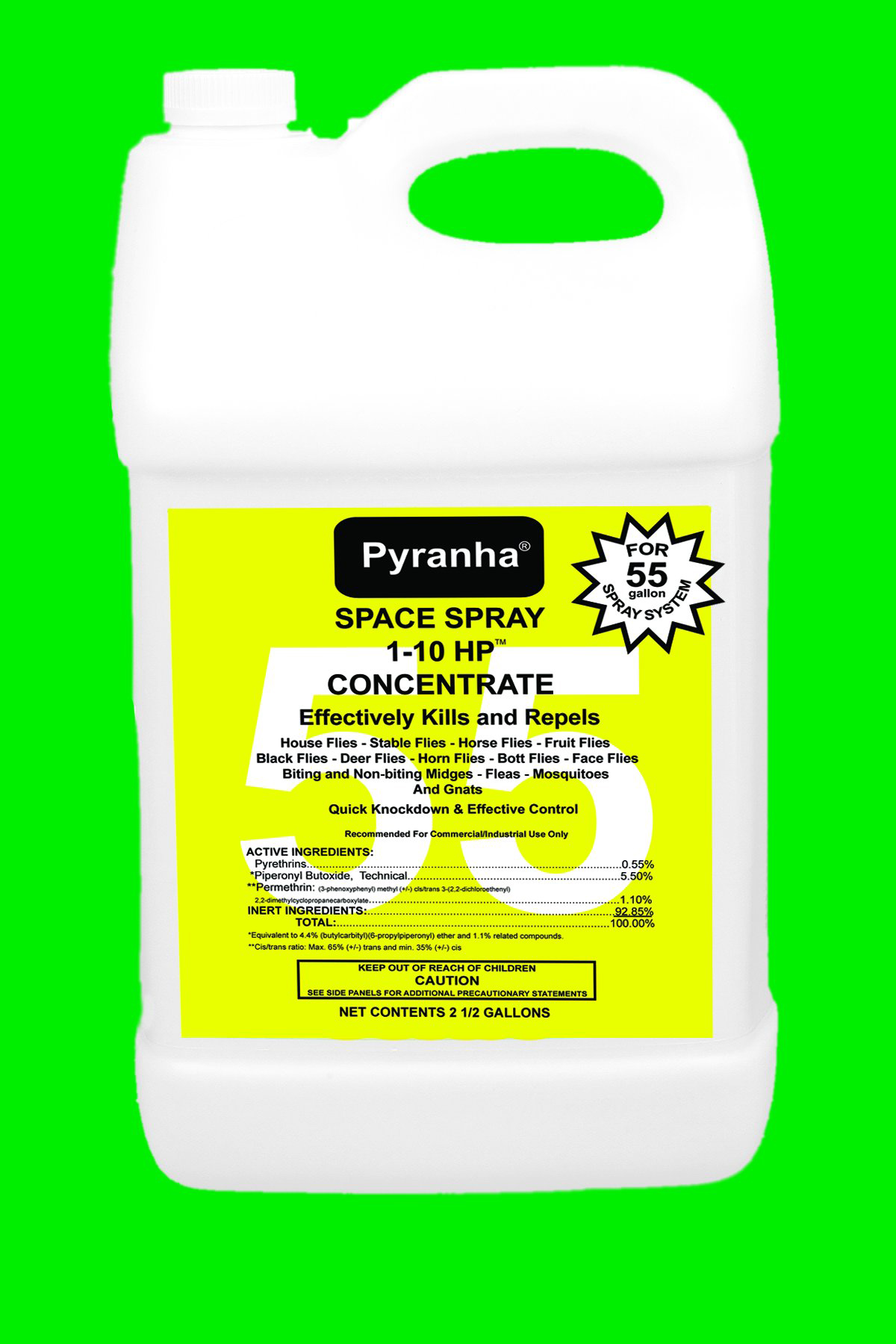 SPACE SPRAY 1-10 HP INSECTICIDE FOR 55 GAL SYSTEM