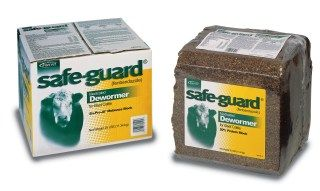 Safeguard 20% Protein Wormer Block 25 lb
