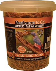 DRIED MEALWORM TO GO TUB