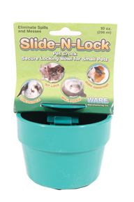 SLIDE-N-LOCK PET CROCK