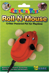 ROLL-N-MOUSE SMALL ANIMAL TOY