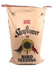 100 % Oil Sunflower Seed - 25 lbs.
