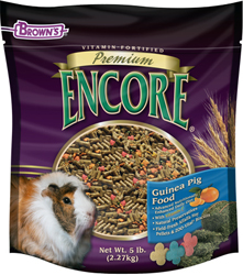 Encore Guinea Pig Food - 5 Lb