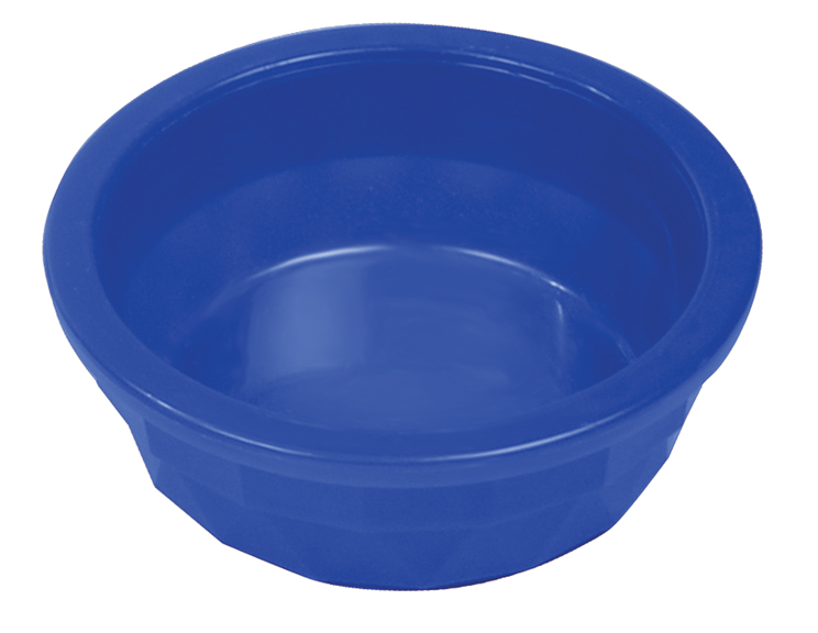 20 Oz Plastic Crock Style Dog Bowl - Translucent