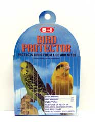 MITE AND LICE PROTECTOR FOR BIRDS