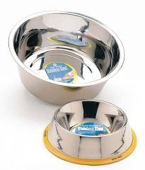 1 Pint Stainless Steel Dog Bowl/Mirror