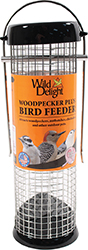 WILD DELIGHT WOODPECKER PLUS BIRD FEEDER