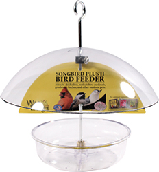 WILD DELIGHT SONGBIRD PLUS II DOME BIRD FEEDER