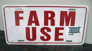 FARM USE ID TAG    WHITE      5