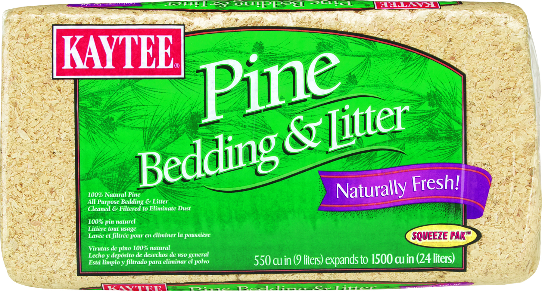 Kaytee Pine Bedding 1500 Cubic Inches