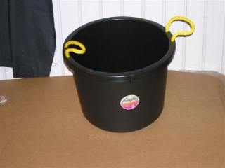 Black Muck Bucket  40qt