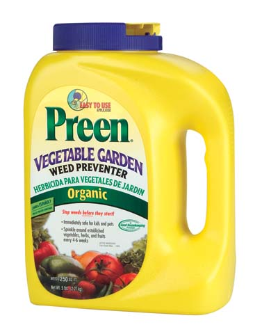 PREEN VEGETABLE GARDEN PREVENTER GRANULES
