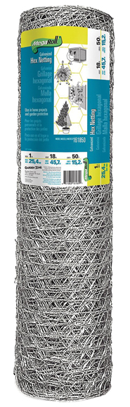 GALVANIZED HEX NETTING