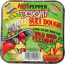 """Hot"" Pepper Delight Suet"