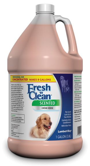 Dog rinses & conditioners: fresh creme rinse -  4  gal