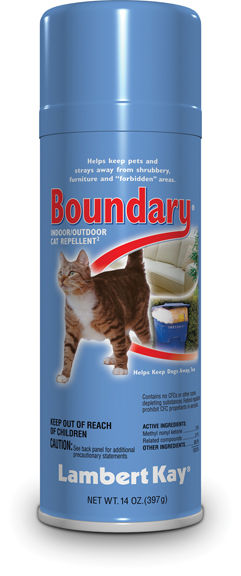 Boundary Indoor/Outdoor Cat Repellant