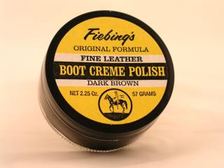 Boot Creme Polish 2oz - Dark Brown