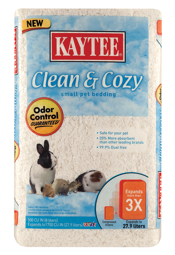 CLEAN & COZY SMALL PET BEDDING