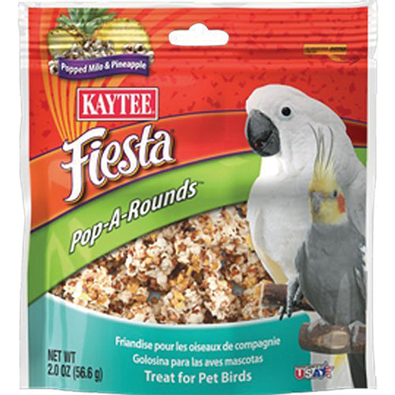 FIESTA POP-A-ROUNDS TREAT - PET BIRDS