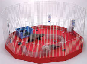 Small Animal Play Pen Mat