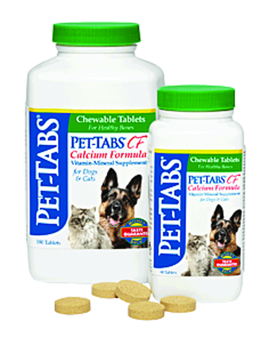 Pet-Cal Vitamin Supplement - 180 Tablets