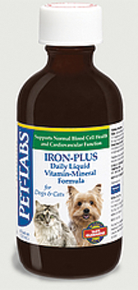 PET-TABS IRON-PLUS