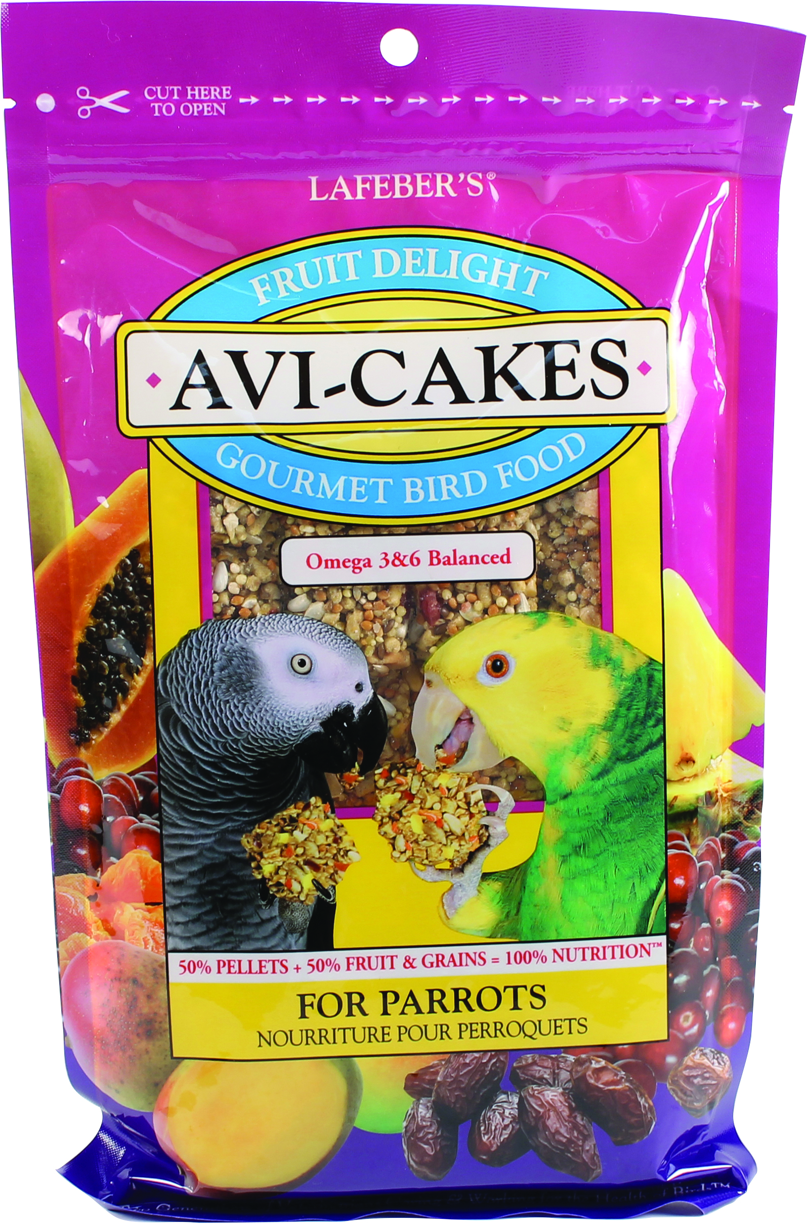 AVI-CAKES FRUIT DELIGHT GOURMET BIRD FOOD