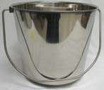 13 Qt Stainless Steel Pail with Handle