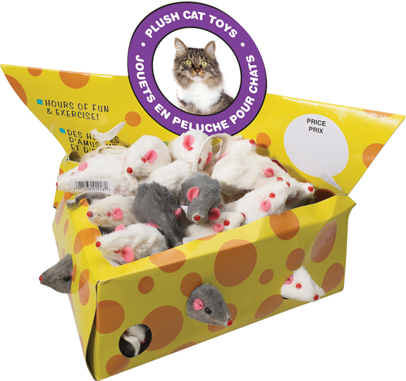 Fur Mouse Cheesebox Display 24 Piece