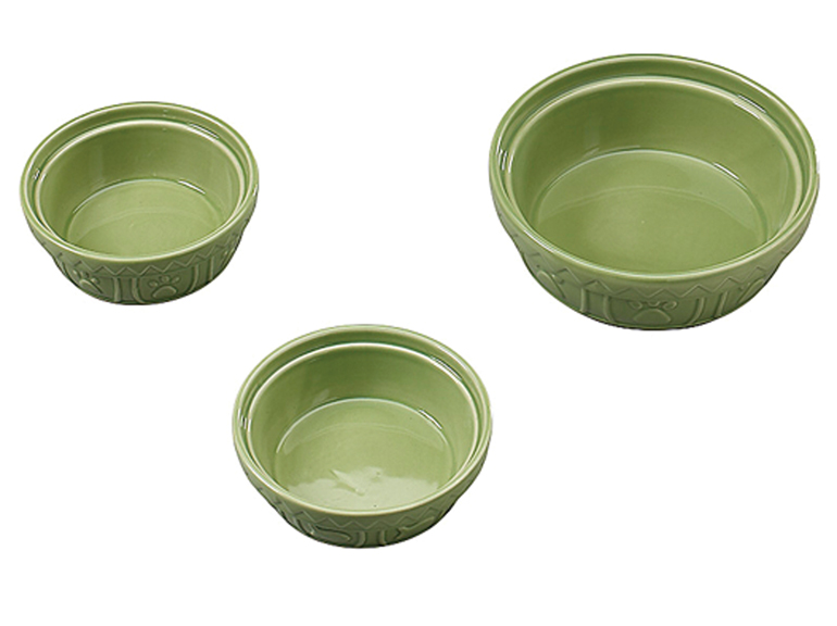 "6"" Adjustable Diner with Ceramic Bowls - Palm (22 Oz)"