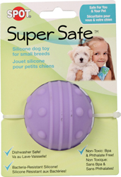 SUPER SAFE SILICONE DOG TOY