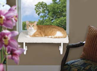 LAZY PET DELUXE MODEL WINDOW PERCH FOR CATS