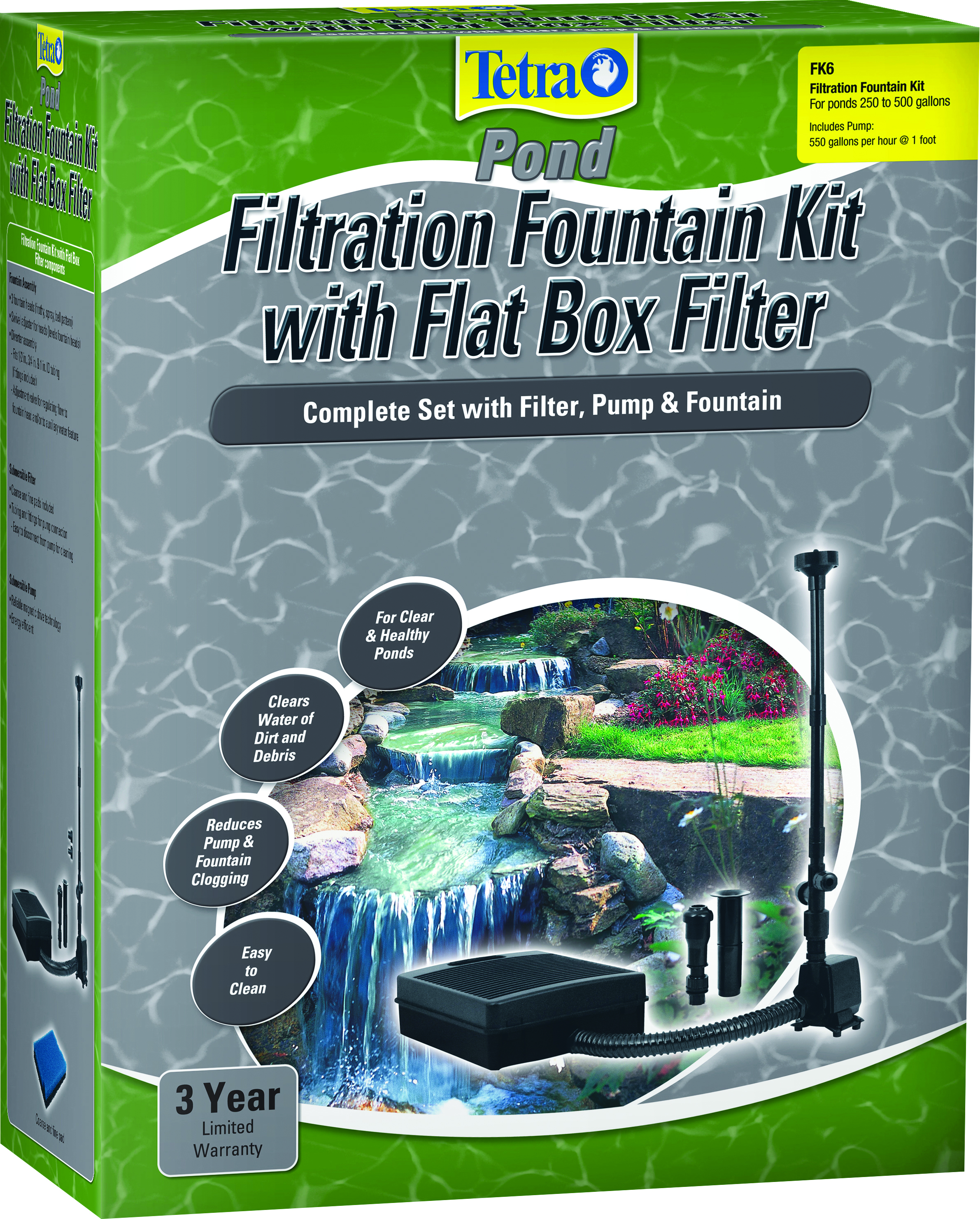 FILTRATION FOUNTAIN KIT