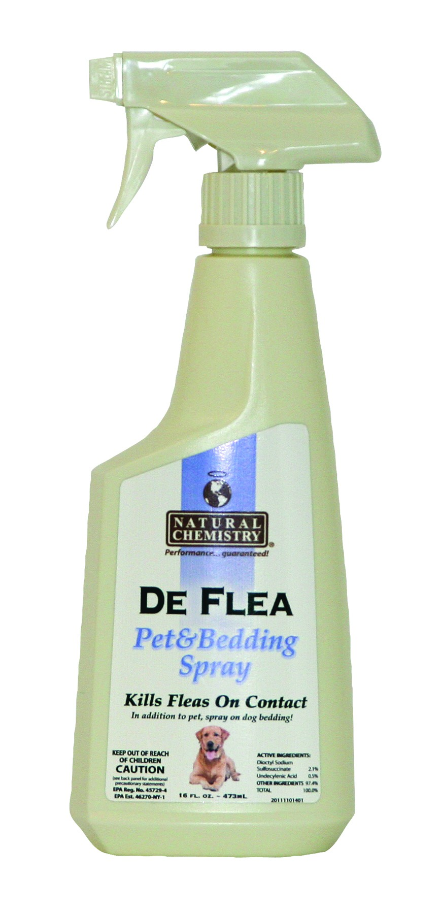 De Flea Pet Spray - 16.9oz.