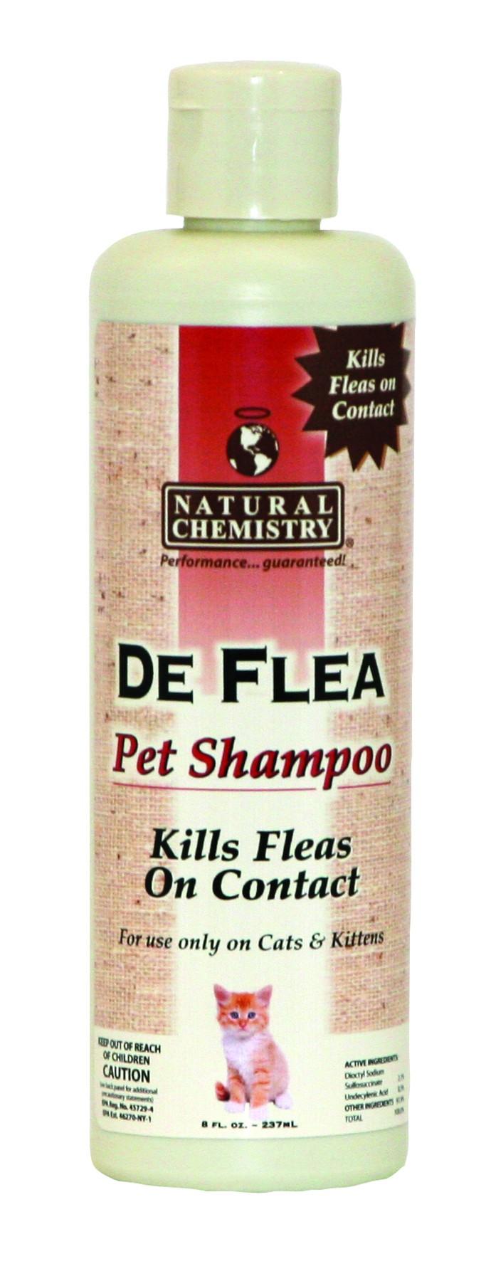 DEFLEA PET SHAMPOO FOR CATS
