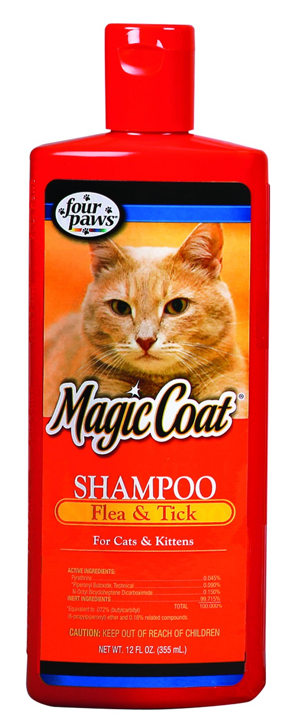 Flea & Tick Shampoo  for Cats 12oz