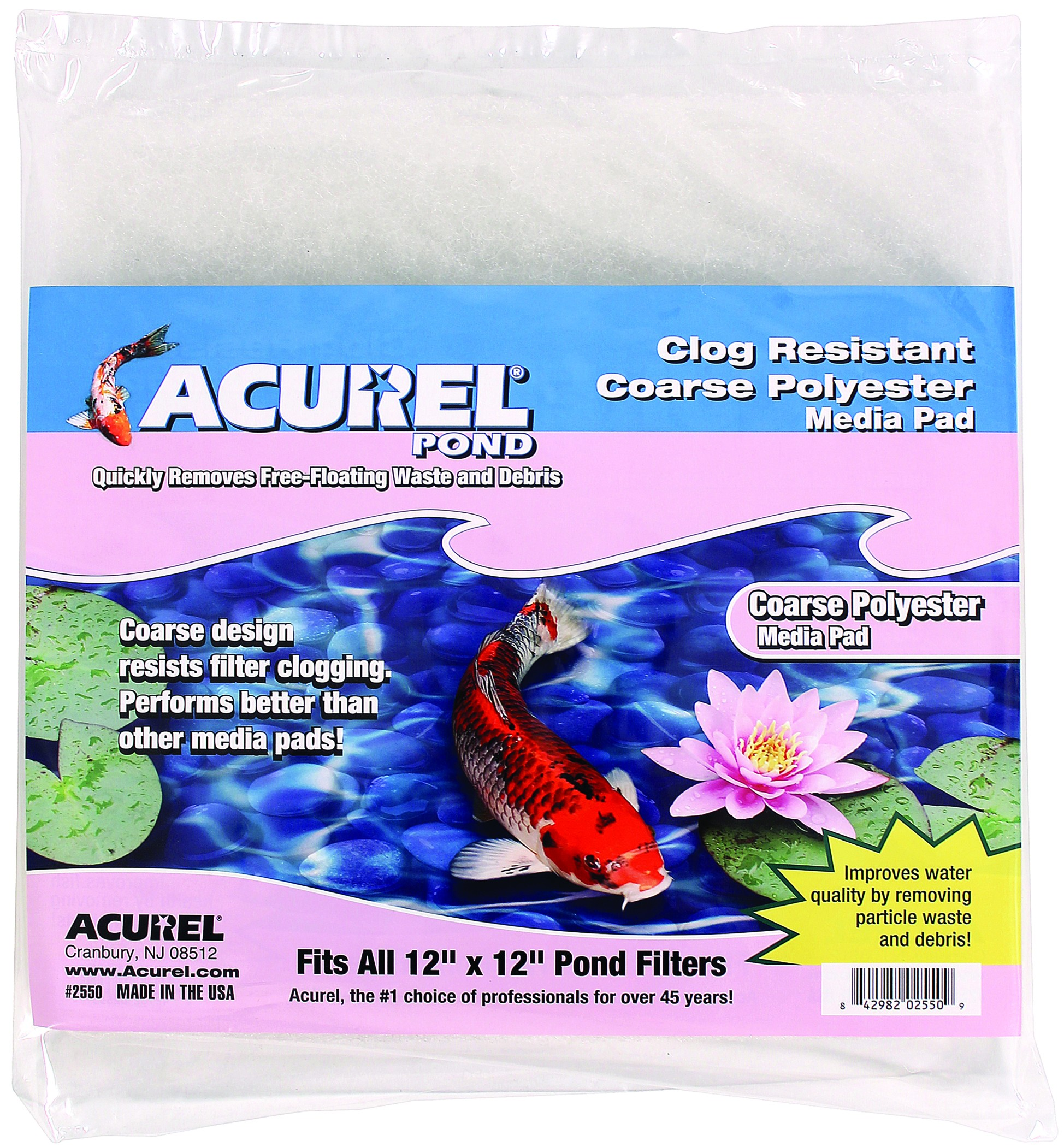 ACUREL COARSE POLY MEDIA PAD