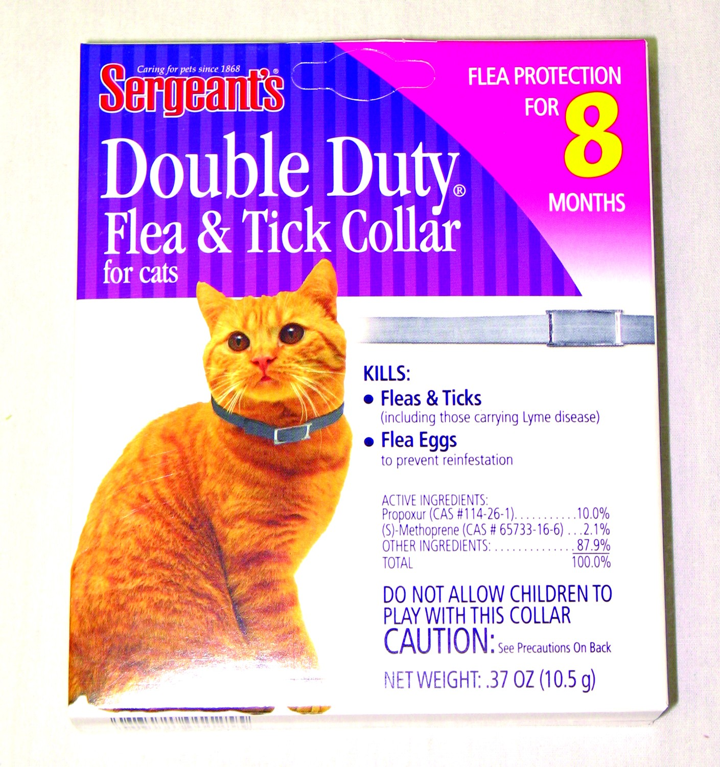 DOUBLE DUTY FLEA & TICK COLLAR FOR CATS