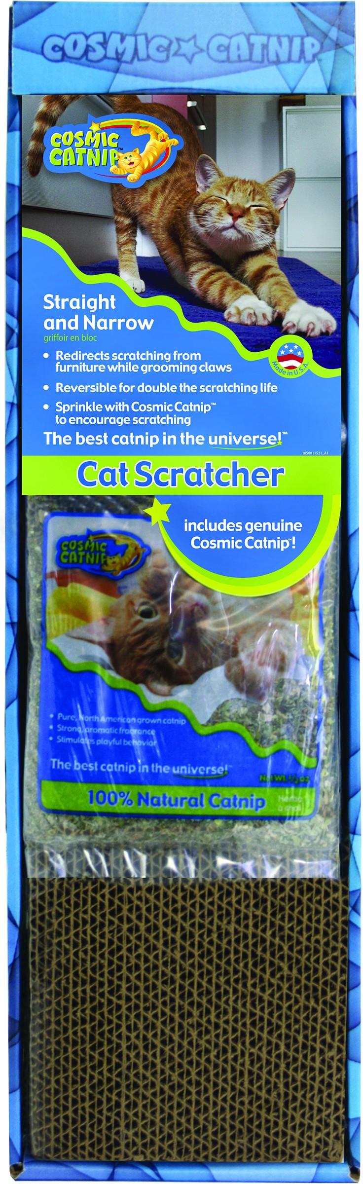 COSMIC STRAIGHT & NARROW CAT SCRATCHER