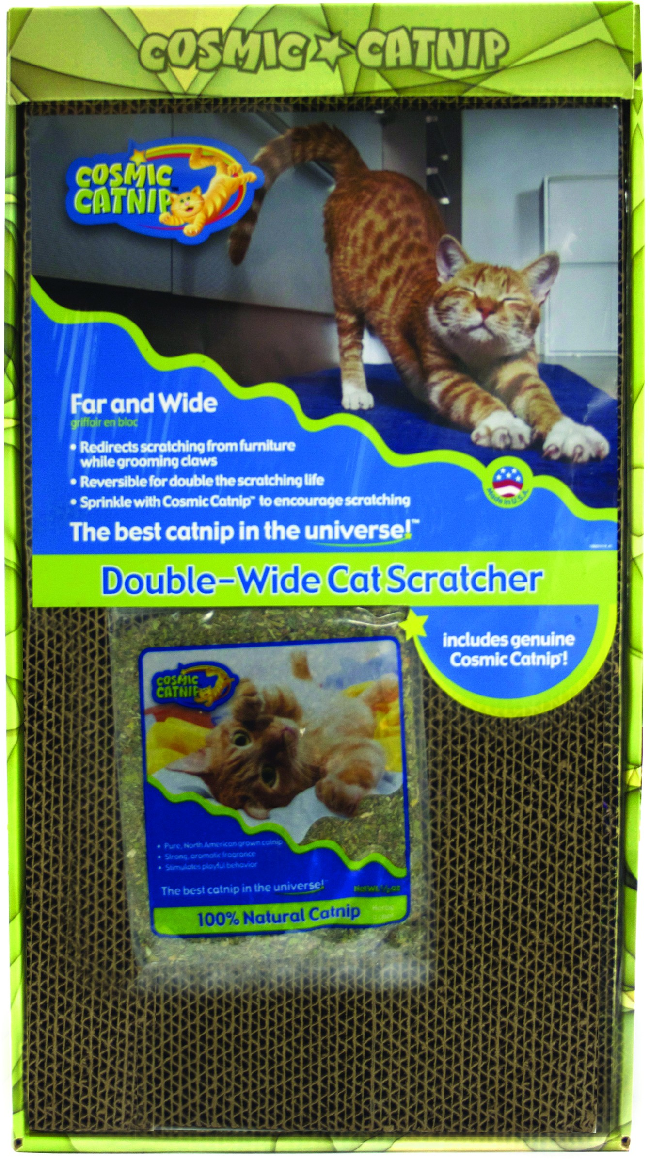 COSMIC FAR & WIDE CAT SCRATCHER