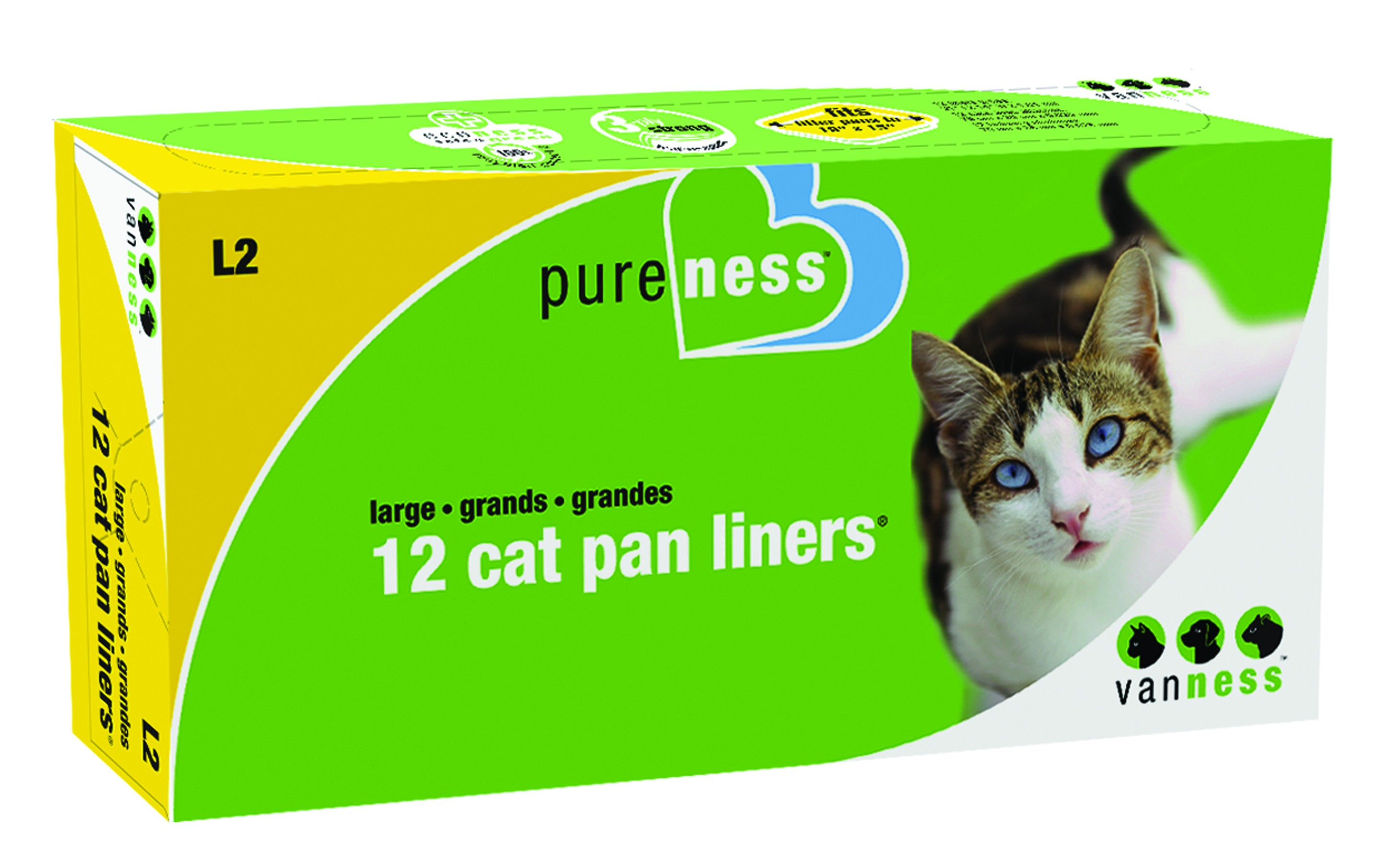 Cat Litter Boxes Drawstring Liners 12 Pack