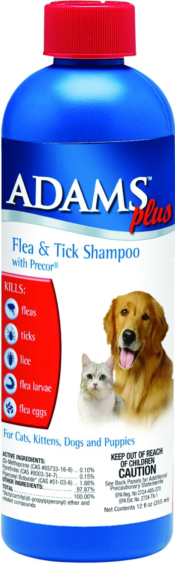 ADAMS PLUS FL/TK SHAMPOO W/IGR