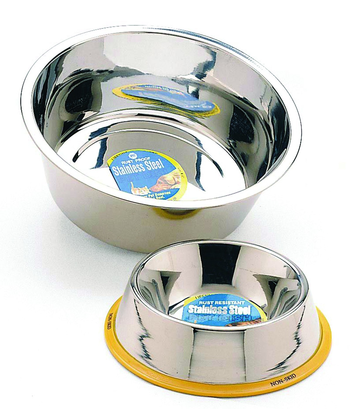 1 Pint Stainless Steel Dog Bowl/Mirror