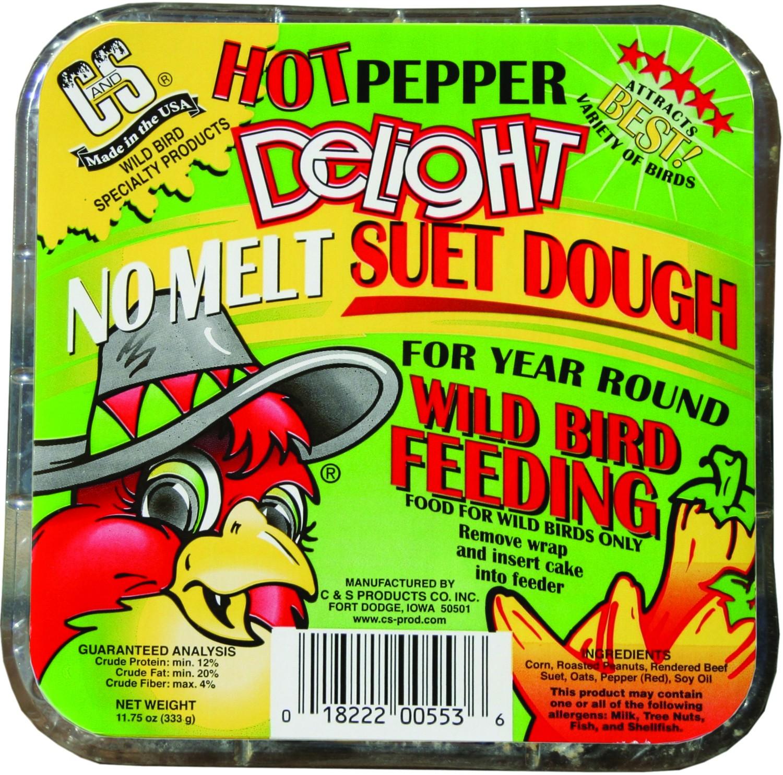 """""""Hot"""" Pepper Delight Suet"""