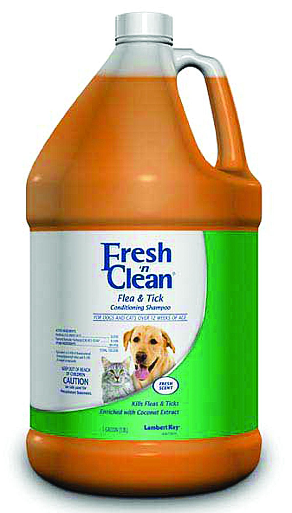 FRESH  N CLEAN FLEA & TICK CONDITIONING SHAMPOO