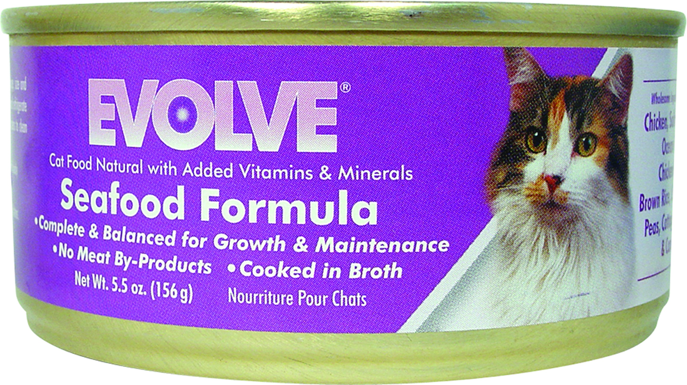 Evolve Seafood  for  Cats 5.5oz