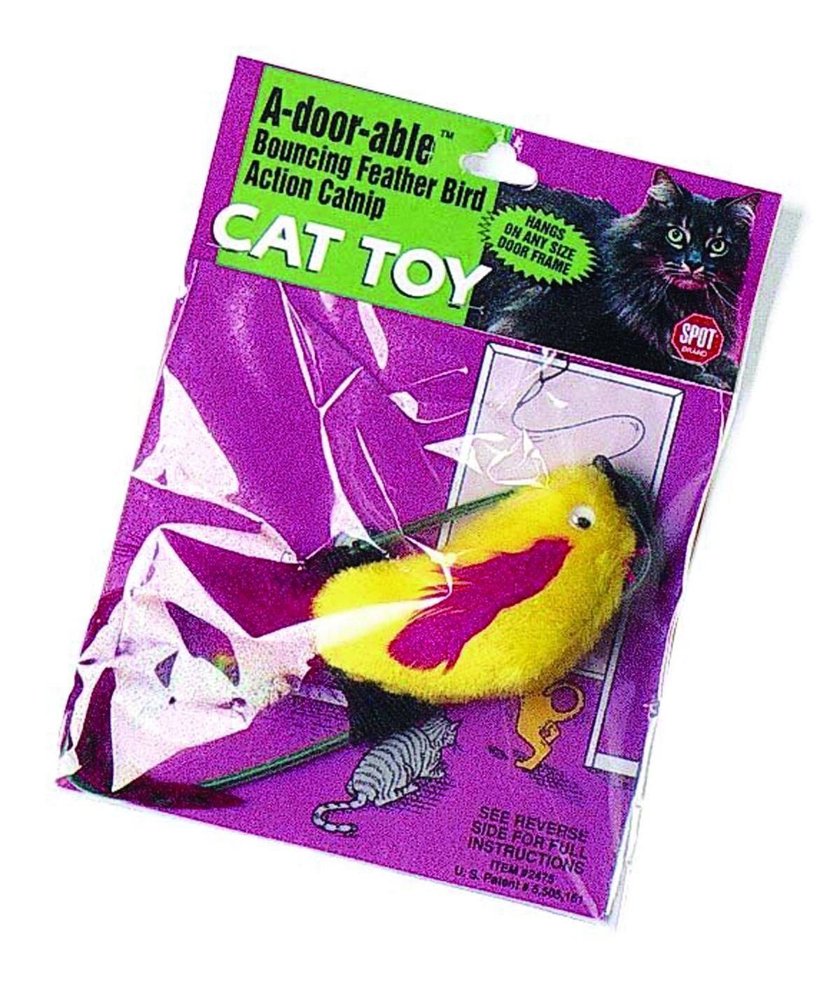 A-Door-Able Plush Bird