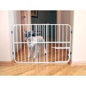 TUFFY EXPANDABLE GATE WITH PET DOOR